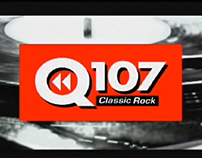 Q107 Station Rebrand Video