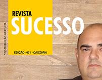 Layout Capa Revista Sucesso - Ed01