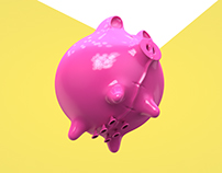 Pig balloon