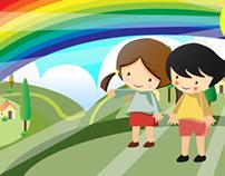 child education animation