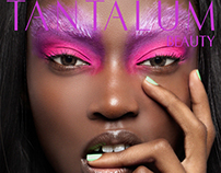 """Vibrant Mood"" Cover Story for Tantalum Magazine"