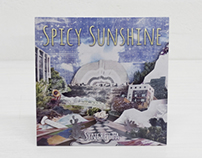 CD art wokr for Spicy Sunshine by Syncretia