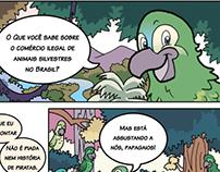 ONG CURUPIRA-PORÃ - Quadrinhos e Personagens
