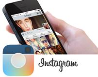Instagram conceptual design.(projet amateur)