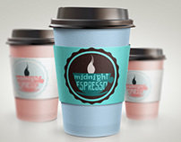 Logo&branding -   Midnight espresso cafe