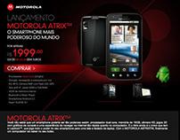Ponto Frio - Hotsite Smartphone Motorola Atrix