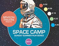 """Space Camp"" Film Series Poster"