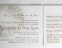 CFDA SPARKLE IN THE SUN EVENT INVITATION