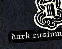 """Harley-Davidson """"Dark Custom"""""""