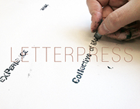 -Traditional Printing - Letterpress