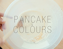 -Pancake Color- typography