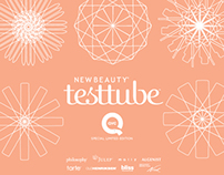 New Beauty & QVC testtube booklet series