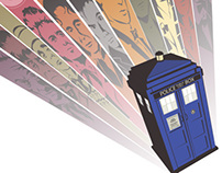 Doctor Who 50th Anniversary Art