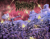 "Abominant's ""Onward To Annihilation"" Cover Art"