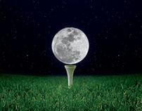 POSTER DESIGN: NIGHT GOLFING AT THE ROYAL PALMS