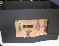 Theater Set Design Model Project