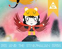 Iris and the Stymphalian Birds