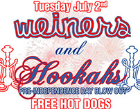 Weiners and Hookahs - Barcode DC