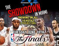 NBA FINALS - BARCODE