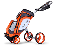Alphard Duo Golf Cart, A Cart and Bag in one.