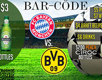 CHAMPIONS LEAGUE FINAL - BARCODE