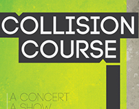 Collision Course (Fake Concert Poster)