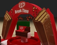 Kitkat Activation Booth
