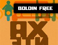Boldin Typeface (free)