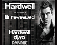 Hardwell presents Revealed ADE 2013 Amsterdam poster