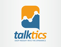 Talktics Logo template