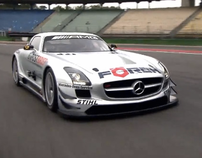Mercedes-Bent SLS AMG GT3 Commercial
