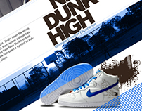 Nike Dunk High Brochure
