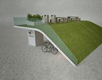 Bringa Pont, Budapest Bike Storage System (concept)