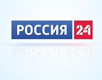 """Russia 24"" TV 2014 Styleguide"