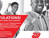 Z.I.B Press Ad