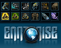 Earthrise MMORPG GUI