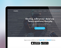 Muzzlo - Responsive Website