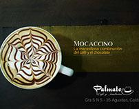 Promoción de Palmato Café piezas e imaen corporativa