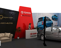 Toyota Exhibition Design (proposed)