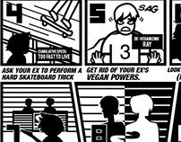 Evil Ex Survival Guide (Scott Pilgrim inspired)