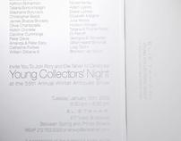 YOUNG COLLECTORS NIGHT EVENT INVITE