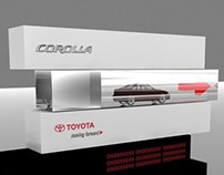 Toyota Corolla - Proposed Exhibition design