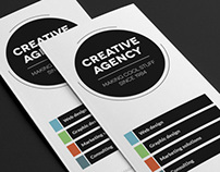 Creative Agency 3-fold Brochure InDesign Template