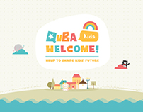 QUBA KIDS - Website and Branding