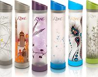 Packaging: Rive Water Bottle Wraps
