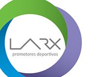 Rediseño de marca Promotora LARX
