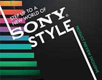 Sony Catalog Design