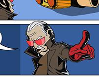 Comics work