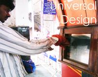 Railway Information Kiosk- Universal Design case study