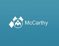 McCarthy Call-a-Car Window 8 App Design